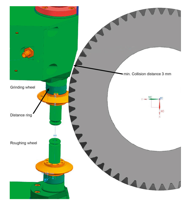 Image 3: Traditional CBN grinding spindles