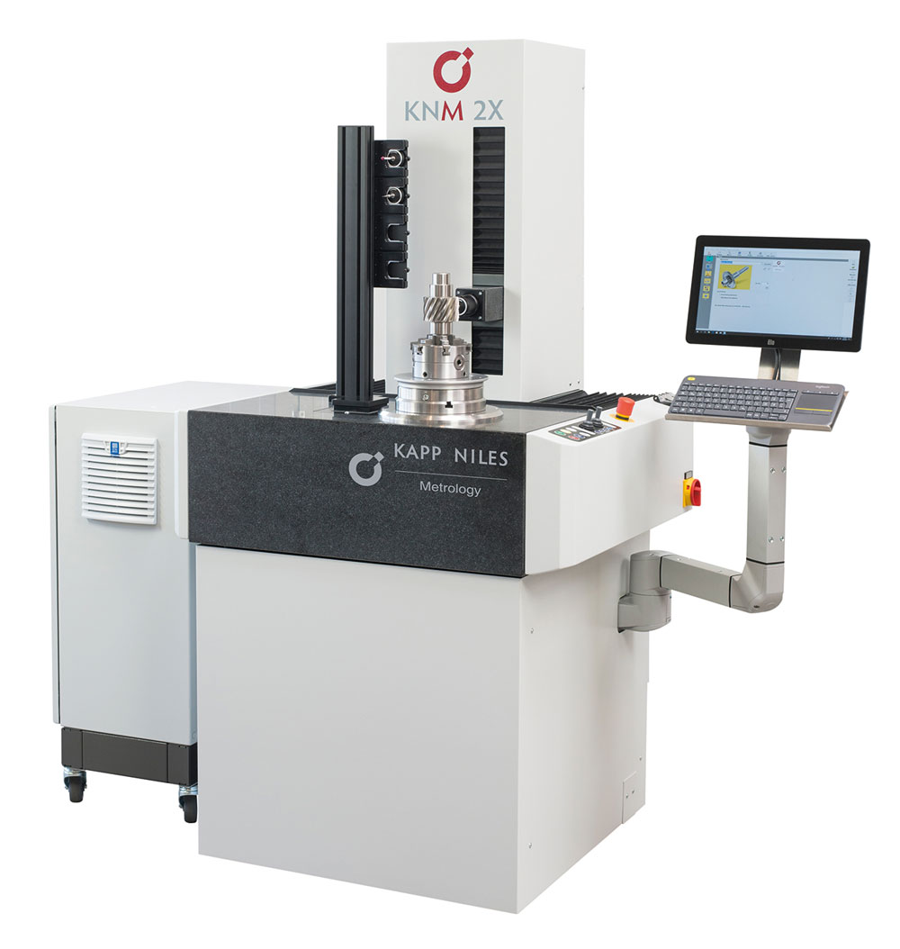Kapp Niles KNM 2X measuring machine for production-related applications