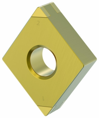 Kennametal recently announced its latest innovation in hard turning-KBH10B and KBH20B PcBN grades, double-sided inserts for materials up ...