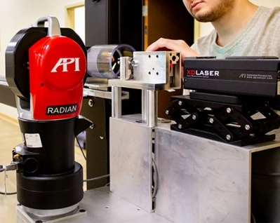 API Services', ISO 17025 accredited, laser tracker calibration facilities provide OEM factory calibration of laser trackers at its ...