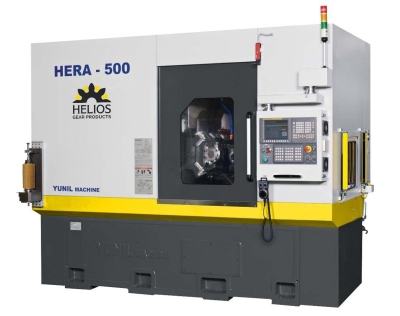 Helios Gear Products announces the Helios Hera 500 CNC gear hobbing machine for the North American market. This machine, built by YG Tech...