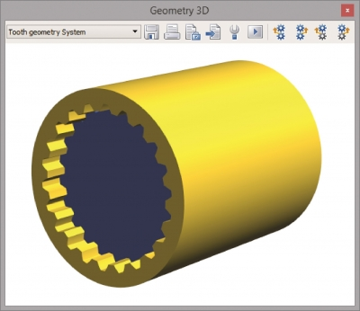 KISSsoft's spline calculation now also includes a new function for calculating the strength of involute splined joints according to A...