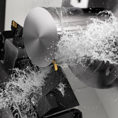 Cutting tool and tooling system specialist SandvikCoromanthas unveiled a newblade for itsCoroCutQD parting-...