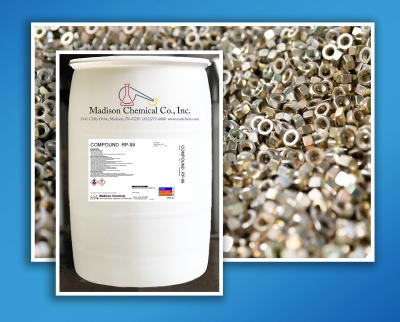 Madison Chemical introduces Compound RP-99S, a versatile water-based rust preventive for use on ferrous and copper metals. Applied to pre...