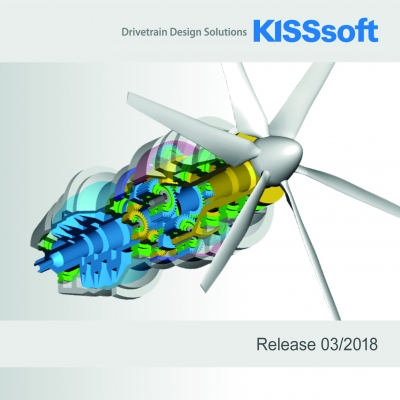 On April 23rd, 2018, the Industrial Fair in Hannover opens its doors. At the same time, the new version of KISSsoft 03/2018 will be relea...