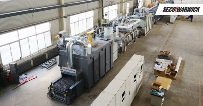 NBR Cooling Systems, an independent heat exchanger manufacturer for the domestic automobile industry, recently purchased a Seco/Warwick s...