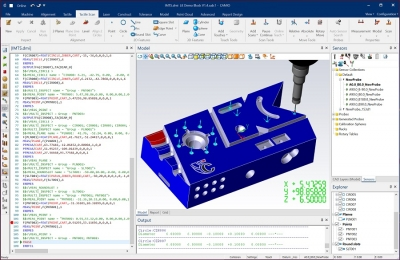 Metrology software has challenges in most application environments—and LK Metrology's new 8.5 version of their CAMIO CMM soft...
