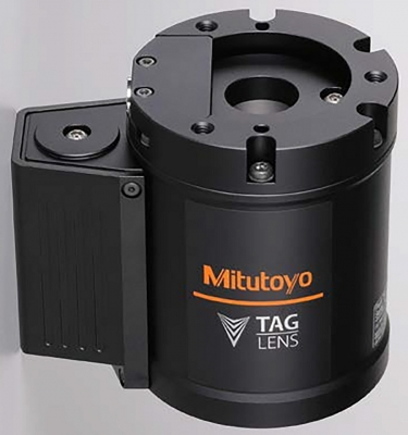 Mitutoyo Corporation has released the TAGLENS series of products. Ideal for demanding inspection applications such as non-contact ultra-h...