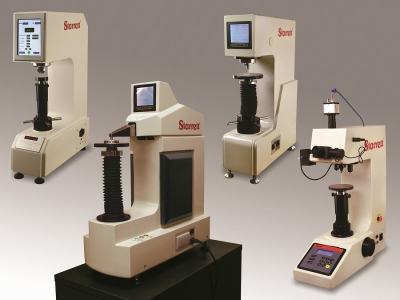 The L.S. Starrett Co. has significantly expanded its line of Benchtop Hardness Testers, adding seven Rockwell systems, eight Vickers syst...
