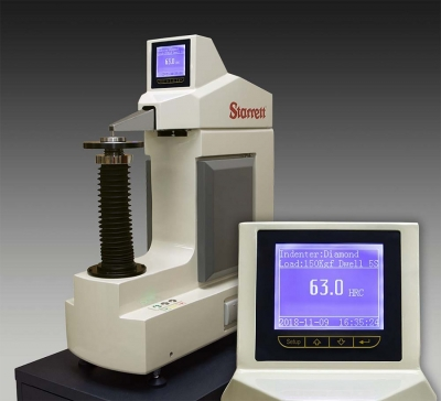 The L.S. Starrett Co. has introduced two new digital Rockwell/Superficial Rockwell Benchtop Hardness Testers (Nos. 3823 and 3824) with fu...
